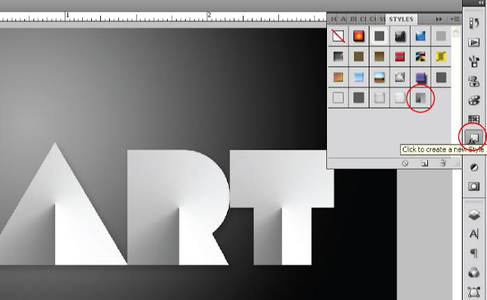 Efek Kertas Robek pada Teks dengan Photoshop
