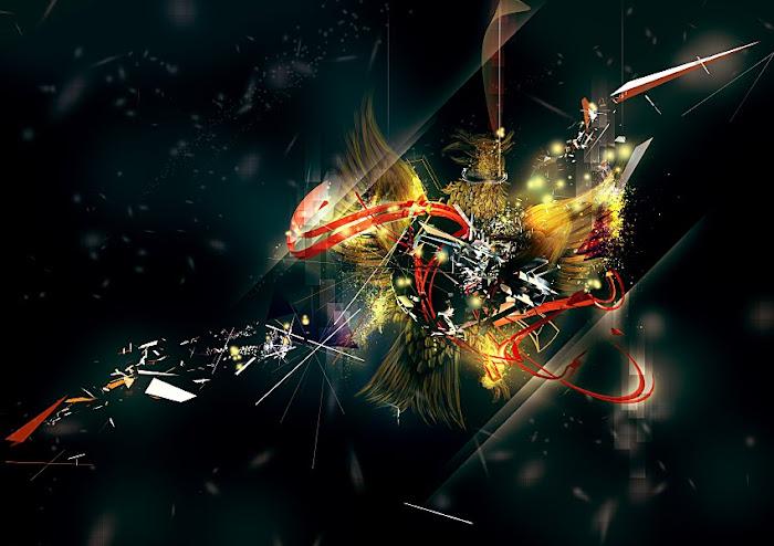 Karya Seni Abstrak Inspiratif dari Febby Tan a.k.a Visualgroove