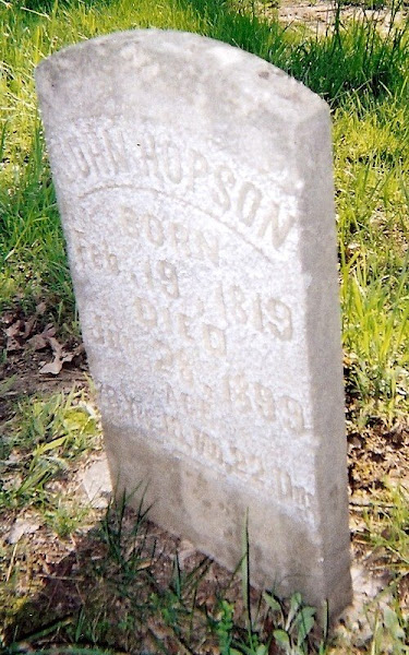 John Hopson's 1819-1909