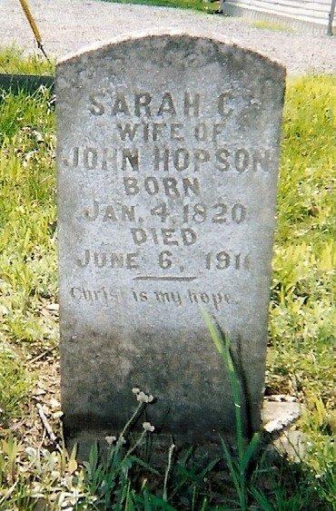Sarah C. Oglesby Hopson 1820-1911