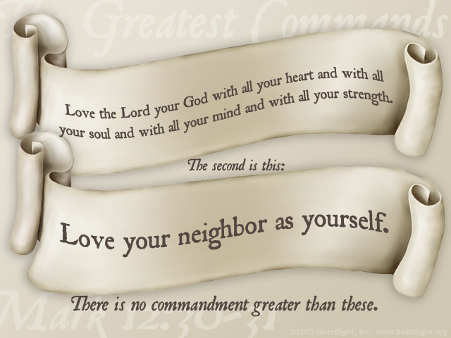 two commandments jesus