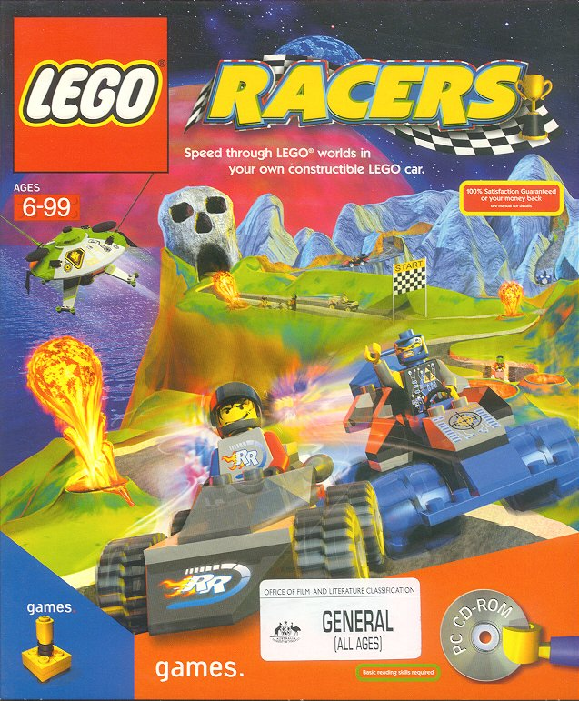 Reviewing computer games lego racers review