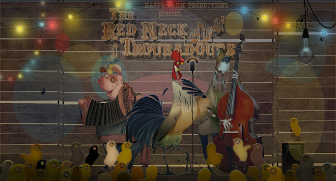 THE RED NECK TROUBADOURS IN CONCERT ( Traditional / Photoshop ).