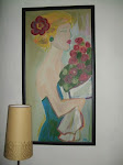 Pige med roser
