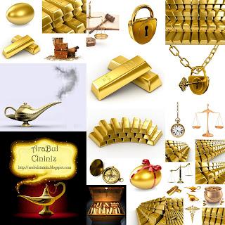 Altın Eşyalar JPG Hi-Q