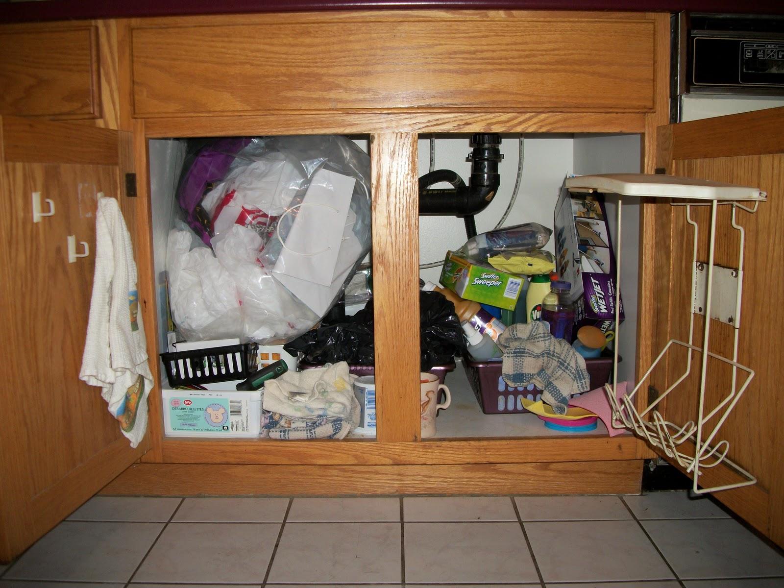 Kitchen Sink Trash Holder