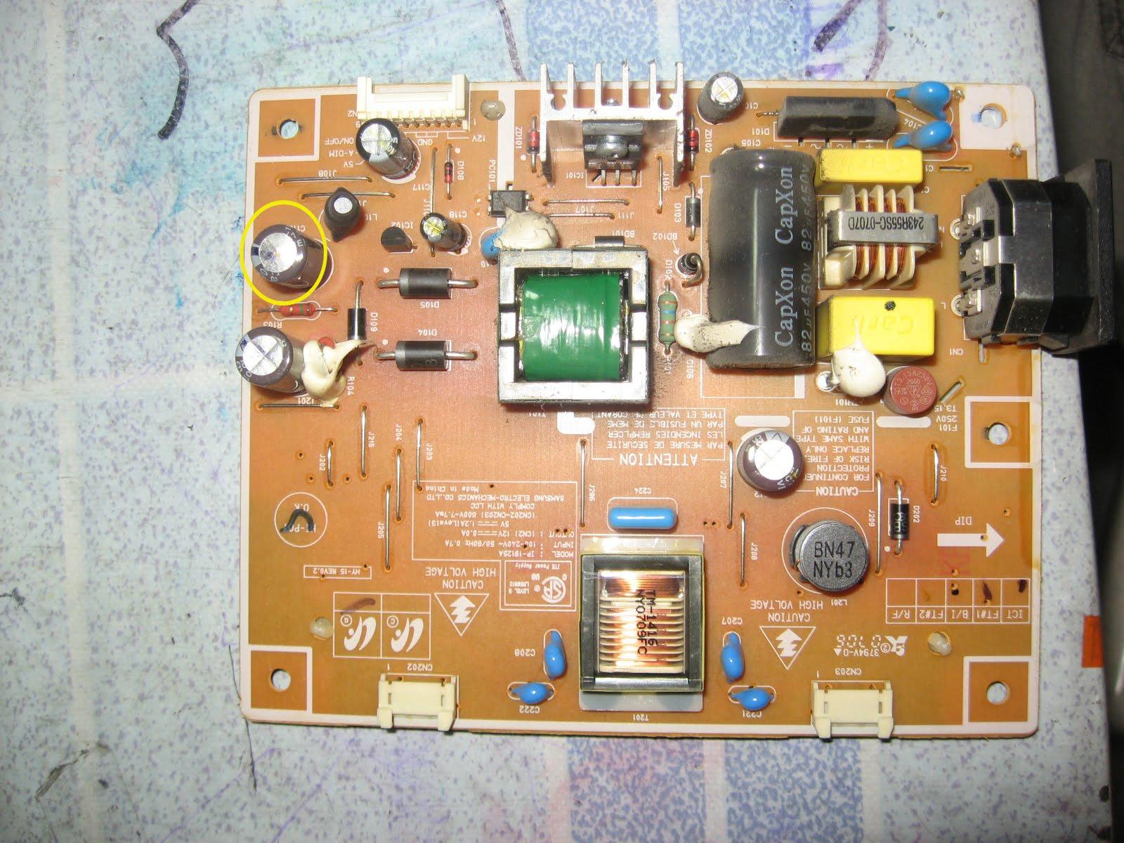 Монитор самсунг 710n ремонт своими руками