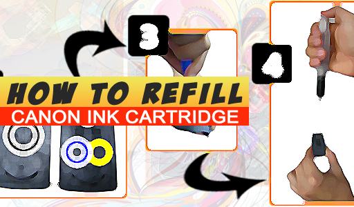 How to Refill Canon PG810 and CL811 | PC Mediks