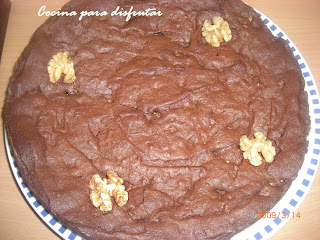 receta BROWNIE DE CHOCOLATE Y NUECES