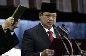 SBY dilantik