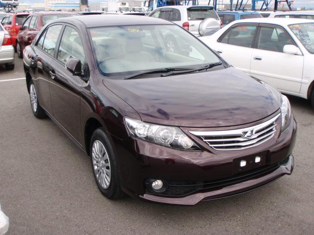 Import Vehicles Toyota Allion 2010