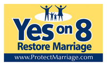 We support Prop 8