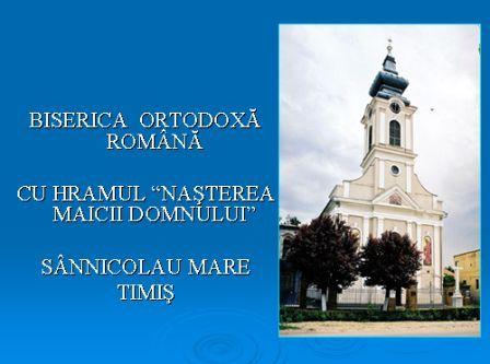 Biserica Ortodoxă Română din Sânnicolau Mare