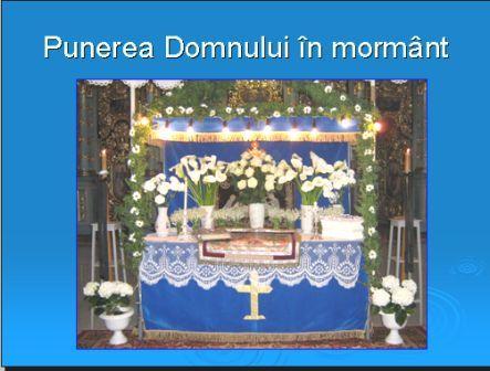 Punerea Domnului in mormint