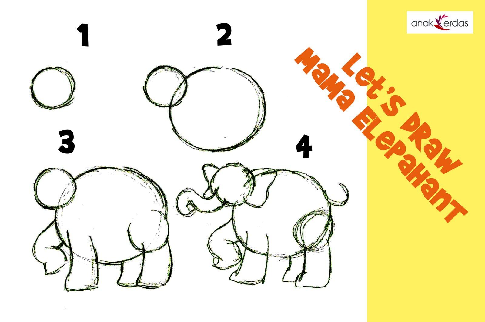 Cara Menggambar Hewan