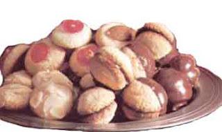 Миндальное пирожное с марципанами