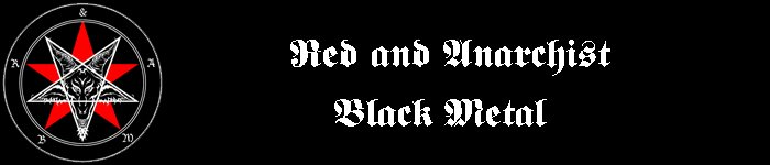 Red and Anarchist Black Metal