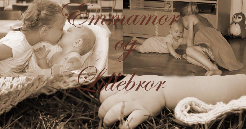 Emmamor og lillebror