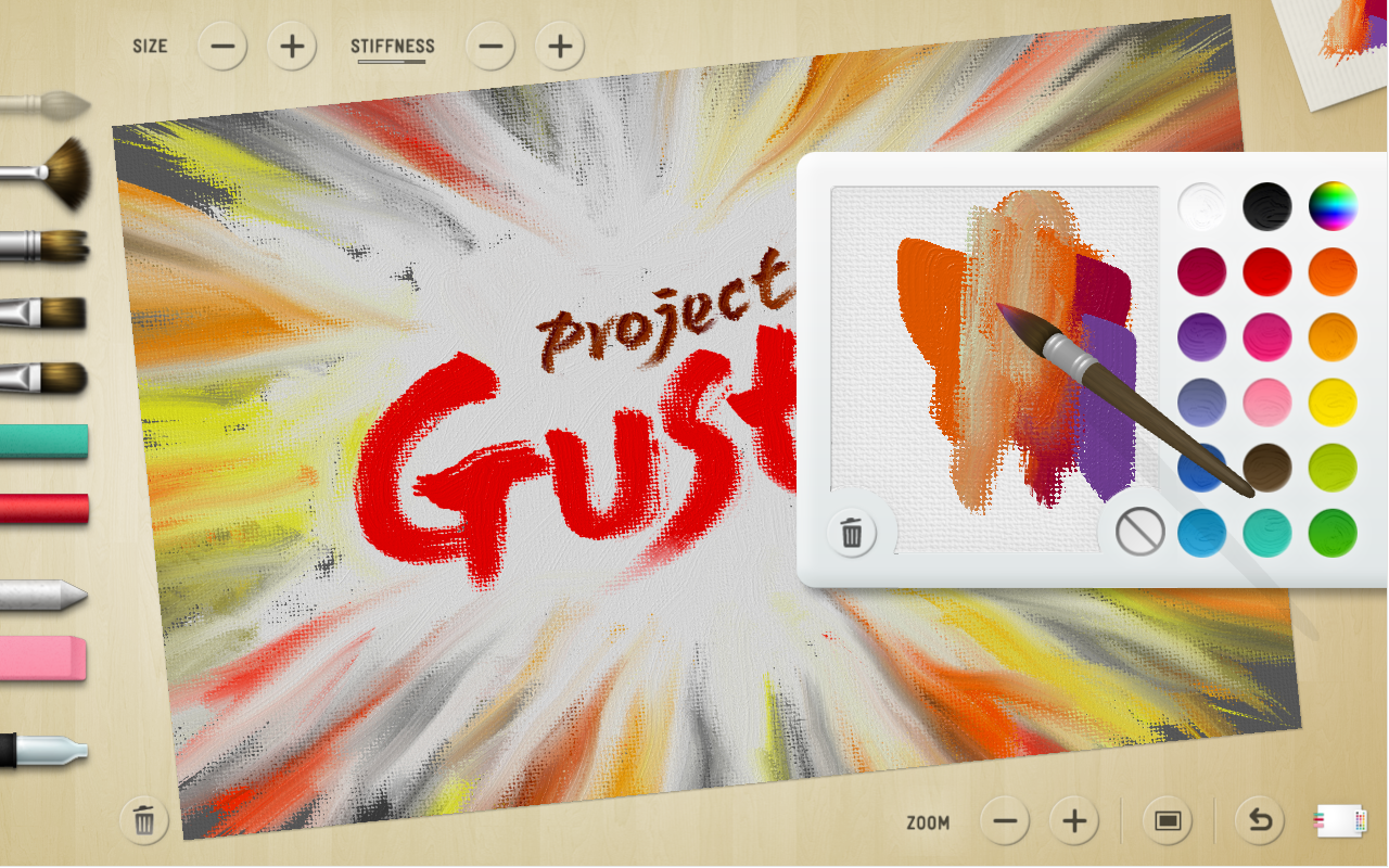 Linknotes Microsoft Project Gustav The Digital Painting Experience