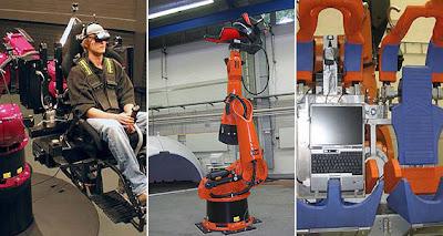 automaton robotics industrial robots engineers turn robot into formula simulator
