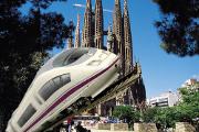 Plataforma AVE pel carrer Mallorca