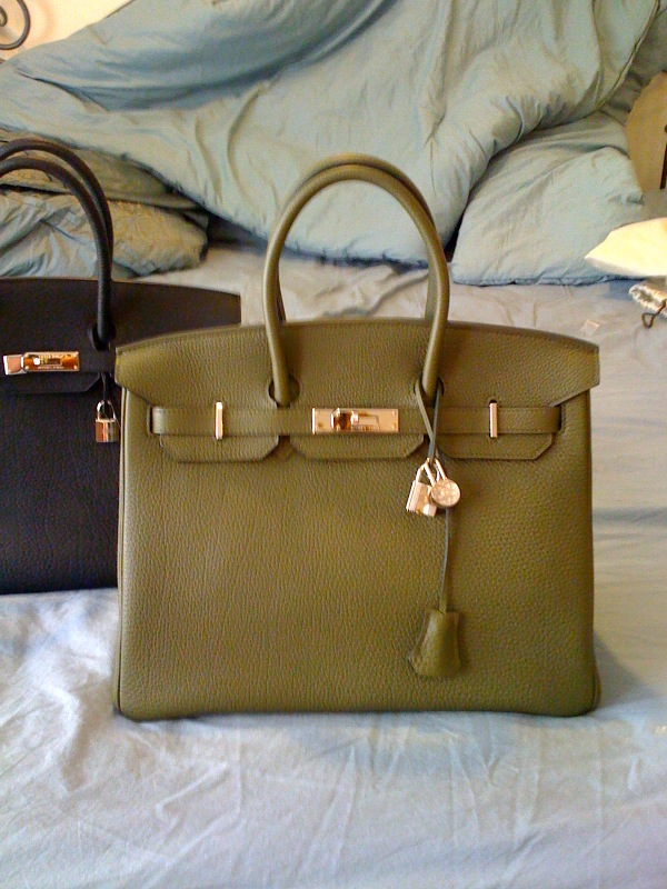 affordable purse - Well That's Just Me ...: Newest Obsession - Green Hermes Bag . .