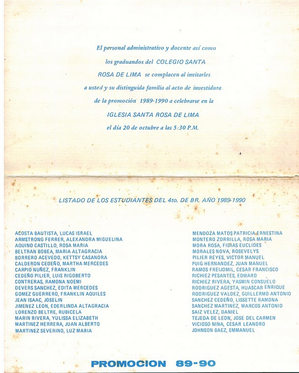 "Tarjeta de Invitación ""Exodus XXII"""
