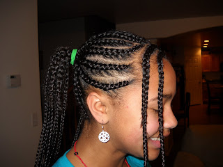 Hair Extensions Cornrow 91