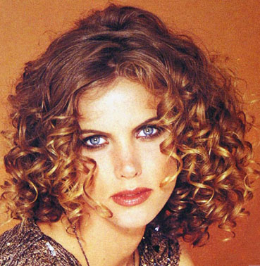 curly hairstyles for long hair. Corkscrew Hairstyle