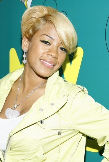 Keyshia cole short blonde hair