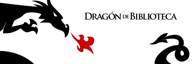 Dragón de biblioteca