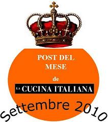 Il post del mese della Cucina Italiana