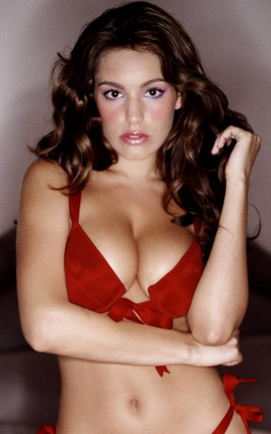 kelly brook. Kelly Brook in Red Bikini