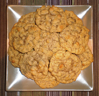The Granola Chronicles Chewy Peanut Butter Oatmeal Cookies
