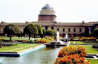 Garden at Rashtrapati Bhavan