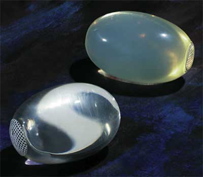silicone testicular prothesis