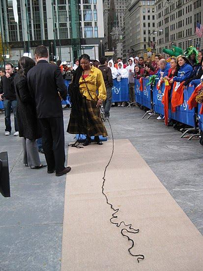 Capelli rasta piu lunghi del mondo
