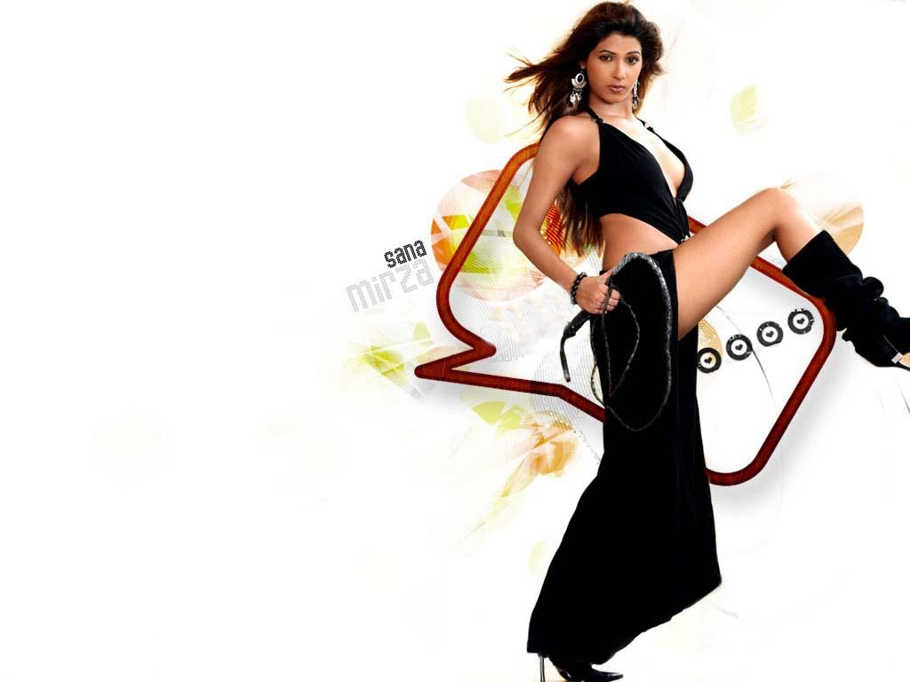 Bollywood Wallpapers Unlimited: Sana Mirza Hot Latest Wallpapers May ...