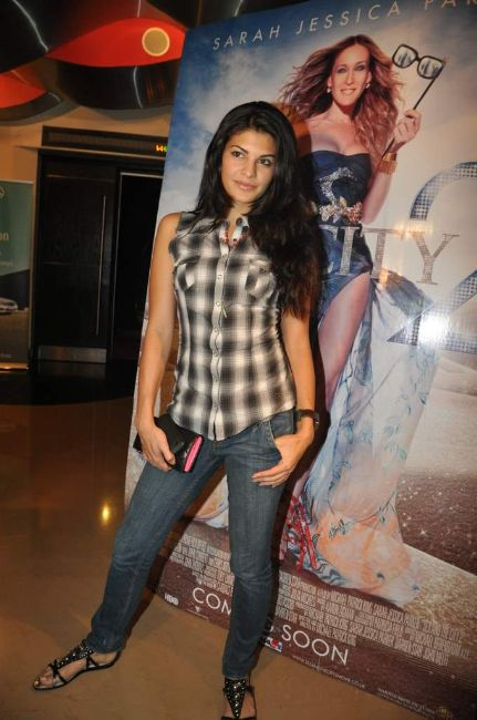 Jacqueline Fernandez At The Mumbai Sex And The City Premiere Show