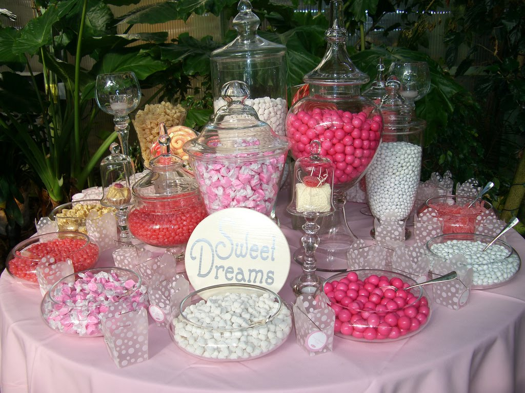 Weddings by laura candy tables for Candy bar for weddings receptions