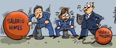 Igualdade de salarios!