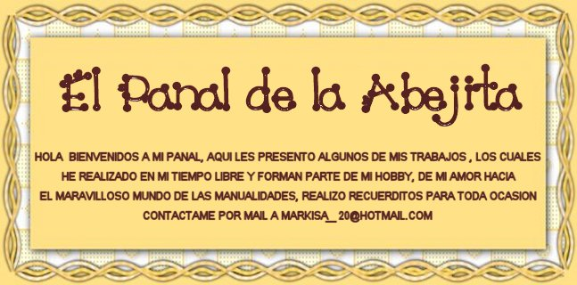 EL PANAL DE LA ABEJITA