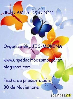 RETO AMISTOSO 11 DE MARTA ISABEL CUMPLIDO!!