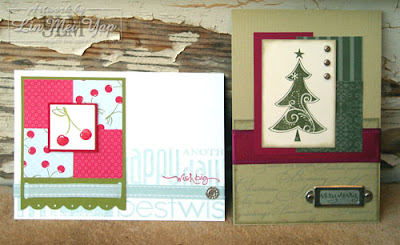 Deluxe Cards using Stampin' Up! Supplies