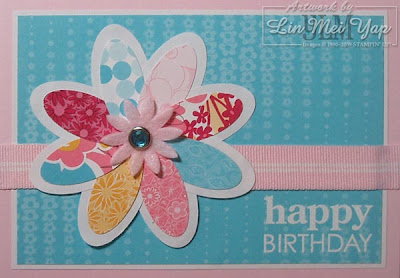 Card made from Stampin' Up! products