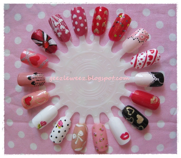 Nail Art Design Chinese New Year Hession Hairdressing