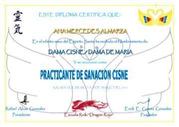 Reiki Master Sanacion Cisne