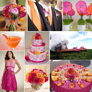 What Colors Look Nice With Fuschia In A Wedding Yahoo