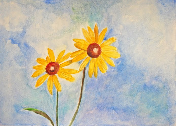 Susie Creativa Serie Acuarelas De Flores Flowers Watercolour Series