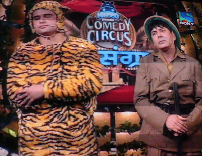 Comedy Circus Mahasangram on Sony TV